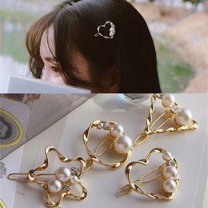 🍁HELLO FALL🍁17Basics Pearl Crystal Hair Clip